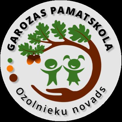 Garozas pamatskolas logo